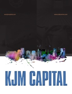 KJM Capital brochure cover.
