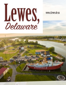 Lewes, Delaware brochure cover.