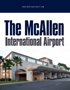 The McAllen International Airport brochure cover.