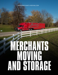 Merchants Moving and Storage brochure cover.