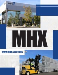MHX brochure cover.