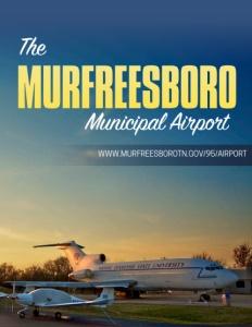 The Murfreesboro Municipal Airport brochure cover.