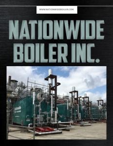 Nationwide Boiler Inc. brochure cover.