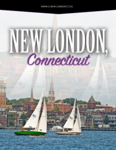New London, Connecticut brochure cover.