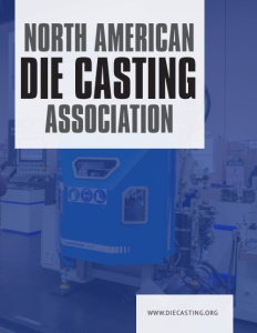 North American Die Casting Association (NADCA) brochure cover.