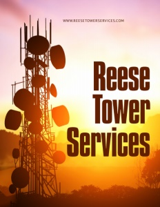 Reese Tower Services brochure cover.