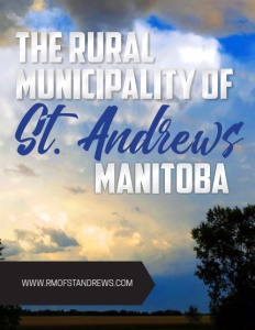 Rural Municipality of St. Andrews, Manitoba brochure cover.