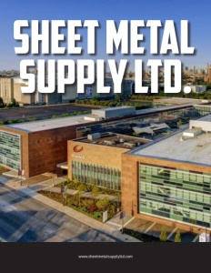 Sheet Metal Supply Ltd. brochure cover.