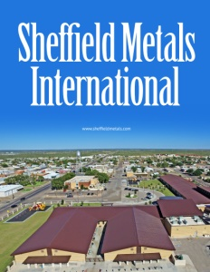 Sheffield Metal International brochure cover.