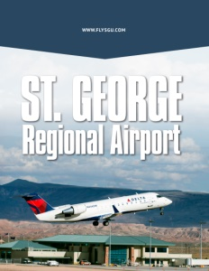 St. George Regional Airport brochure cover.