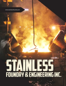 Stainless Foundry & Engineering Inc. brochure cover.