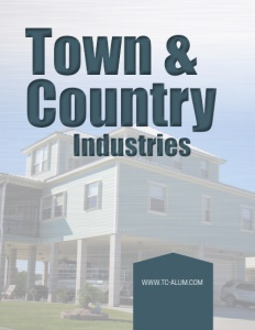 Town & Country Industries brochure cover.