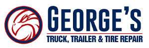 George's truck, trailer & tire repair logo.