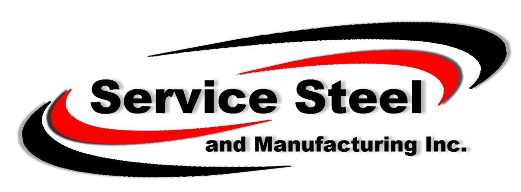 Service Steel and Manufacturing Inc logo.