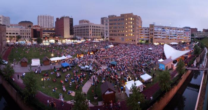 Akron, Ohio Italian festival.