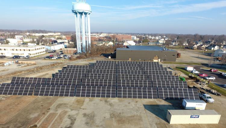 Auburn, Indiana Tempus Solar Field.