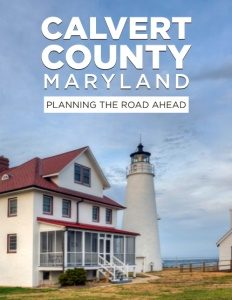 Calvert County Maryland brochure cover.