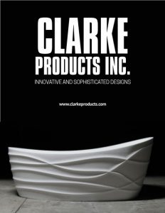 Clarke Products Inc. brochure cover.