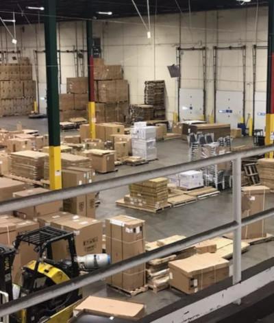 CEO Distributing NC Warehouse.