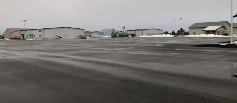 Deer Park Municipal Airport grounds.