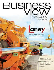 February 2019 Issue Cover Business View Magazine. Laney Directional Drilling.