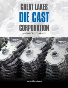Great Lakes Die Cast Corporation brochure cover.