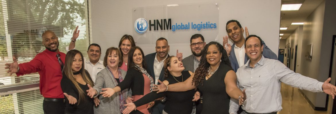 HNM Global Logistics group shot.