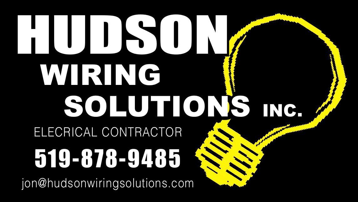 Hudson Wiring Solutions logo.