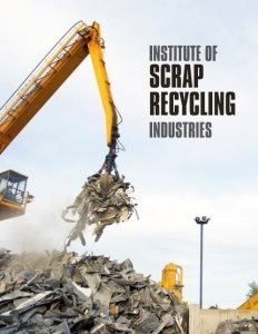 Institute of Scrap Recycling Industries brochure cover.