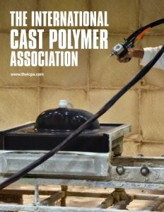 The International Cast Polymer Association brochure cover.