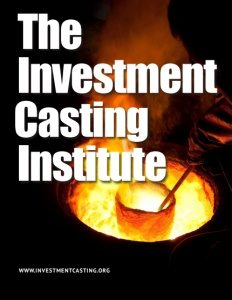 The Investment Casting Institute brochure cover.