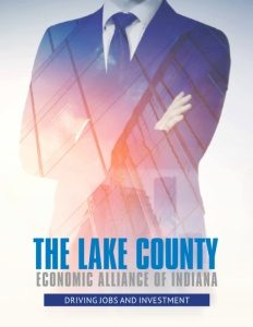 The Lake County Economic Alliance of Indiana brochure cover.