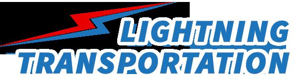 Lightning Transportation logo.