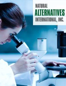Natural Alternatives International, Inc. brochure cover.