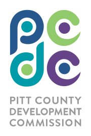 Pitt County Development Commission logo.
