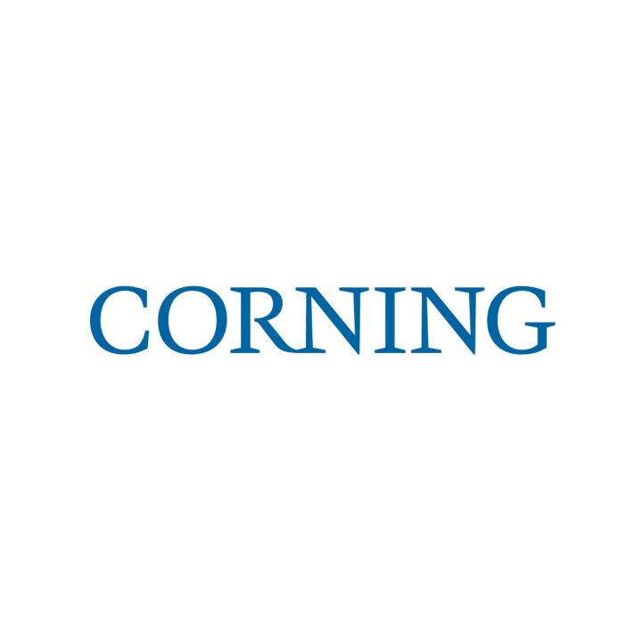 Corning Optical Communications logo.