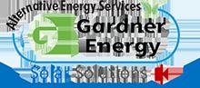 Gardner Energy Solar Solutions logo.