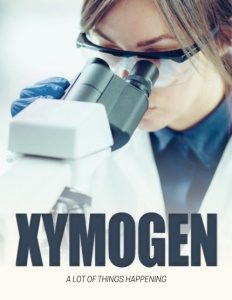 Xymogen brochure cover.