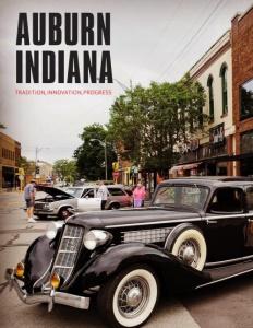 Auburn, Indiana brochure cover.