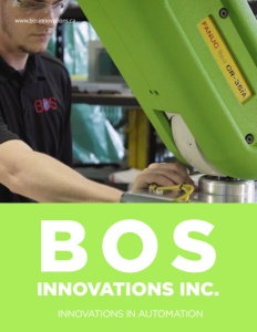 BOS Innovations brochure cover.