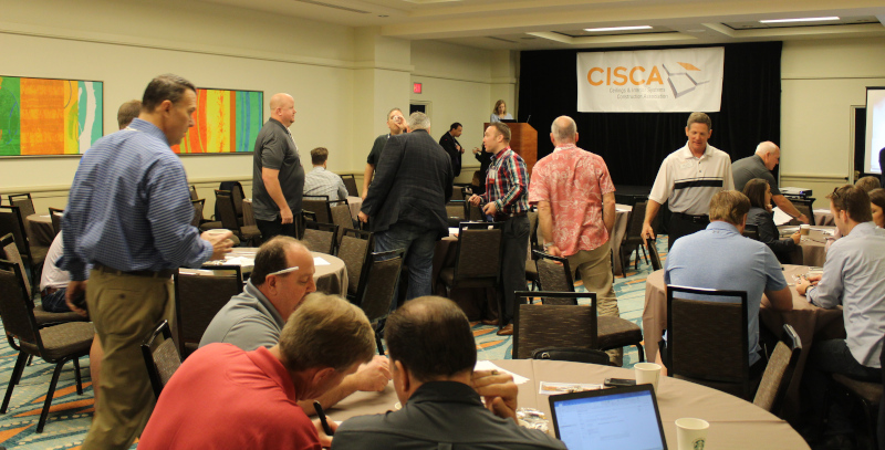 The Ceiling and Interior Systems Construction Association meeting.