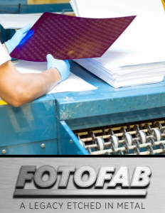 Fotofab brochure cover.