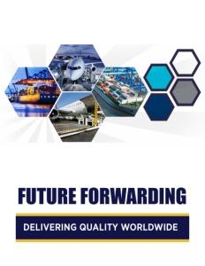 Future Forwarding brochure cover.