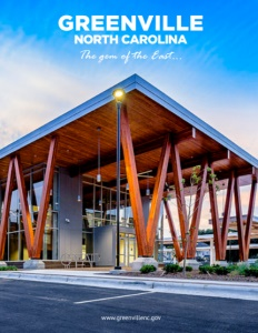 Greenville, North Carolina brochure cover.