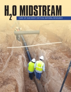 H2O Midstream brochure cover.