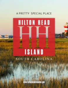 Hilton Head Island, South Carolina brochure cover.