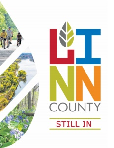 Linn County, Iowa brochure cover.