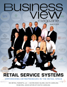 March 2019 issue cover of Business View Magazine.