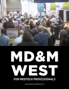 MD&M West brochure cover.