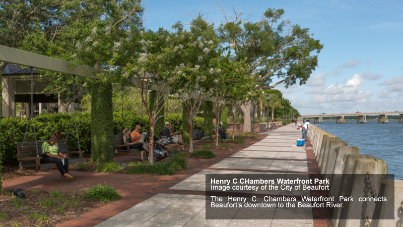 Municipal Association of South Carolina. Henry C Chambers Waterfront Park. Photo Credit to the City of Beaufort.
